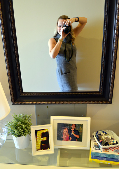 A mirror will make a dramatic statement as soon as you enter: Design Your Entryway | DIY Playbook