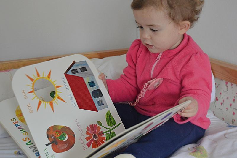 Hoy leemos Eric Carle álbum ilustrado bebes