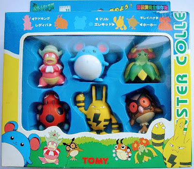 Ledyba Pokemon figure Tomy Monster Collection series Set-M