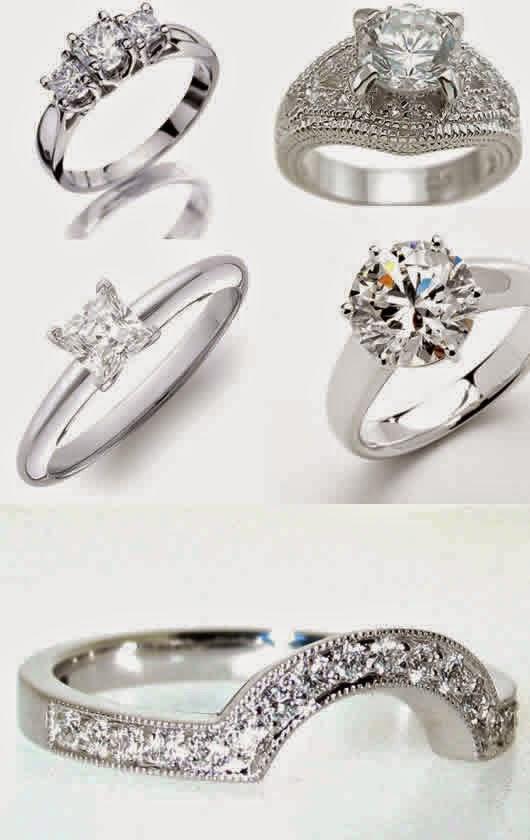 Model cincin berlian wanita terbaru