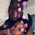 Davido cuddles up with his 2nd daughter Hailey
