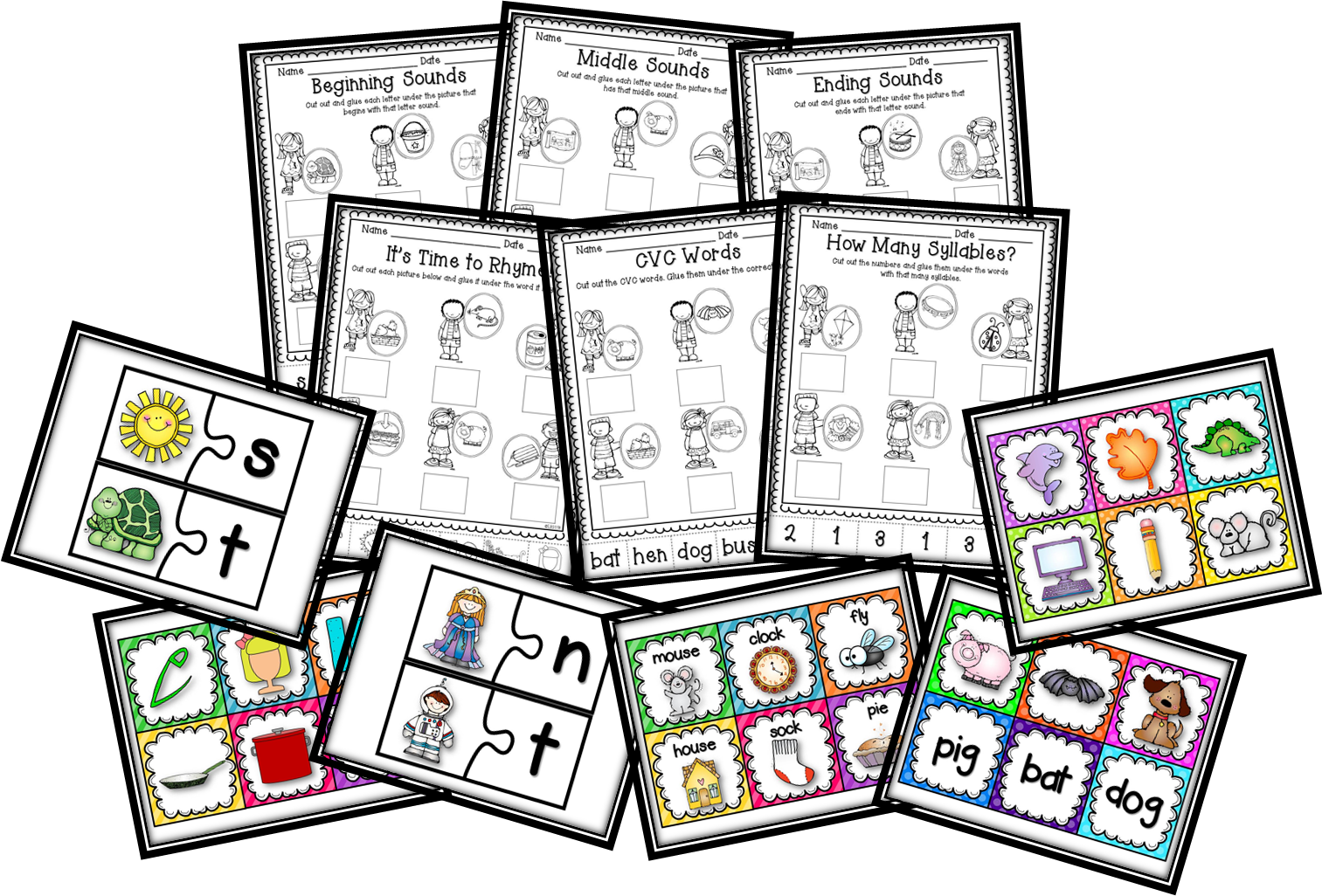 Teaching With Love and Laughter: Kindergarten Literacy Activities