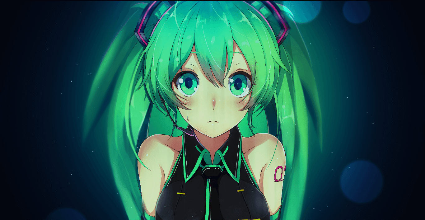 4K Miku Hand in Hand ♪♫♬ [Wallpaper Engine Anime]