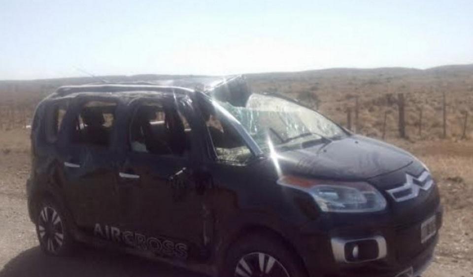 Vuelco en ruta chilena con lesionados