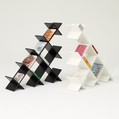 Desain Rak Buku Minimalis Unik dan Cantik