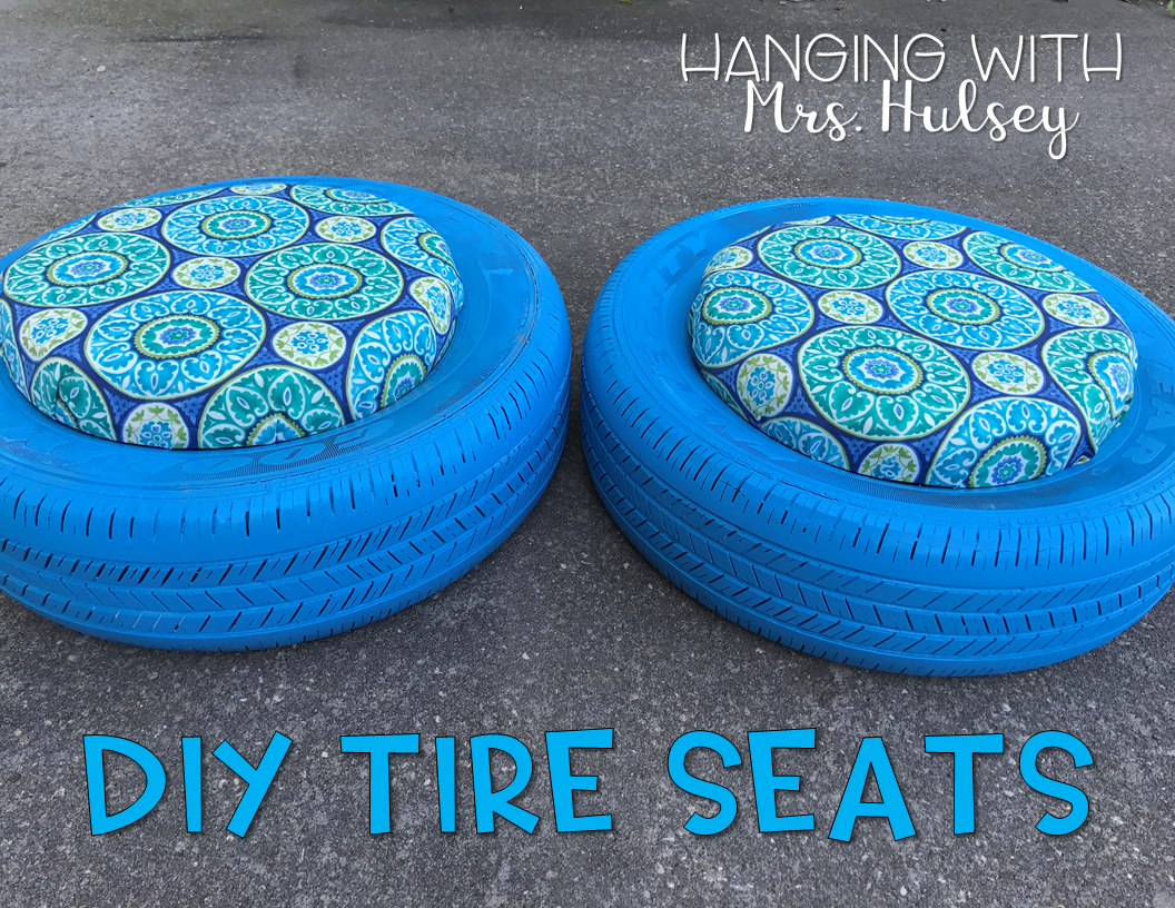 diy tire seats hanging with mrs hulsey