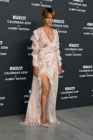 Halle Berry - 2019 Pirelli Calendar launch gala in Milan, Italy - Wed Dec 05 2018