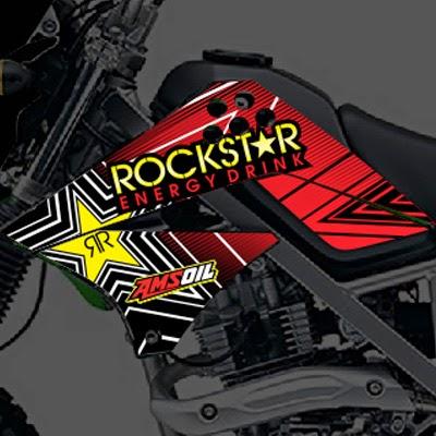 KLX Rockstar Merah
