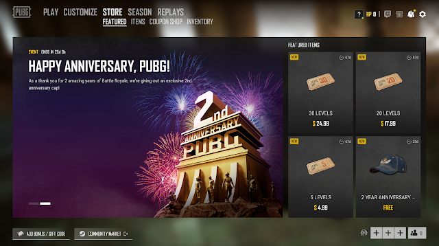 Anniversary PUBG