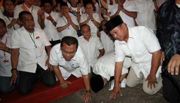 Momen Deja Vu Prabowo Subianto Saat Pilpres 2014 dan 2019