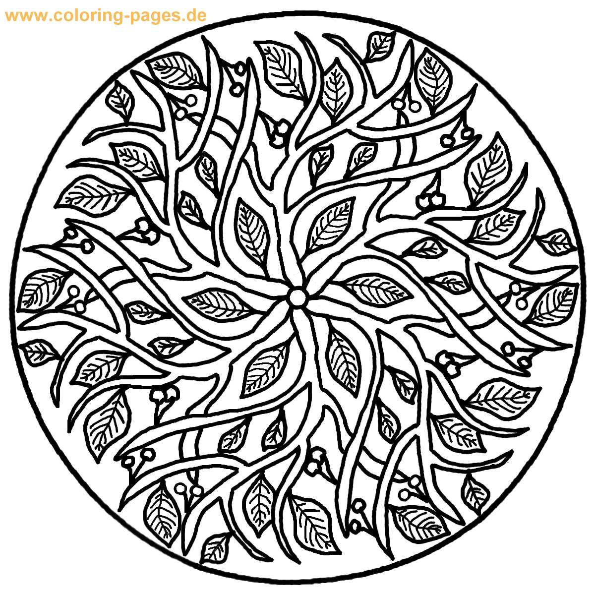 Mandala Best Coloring Pages Minister Coloring