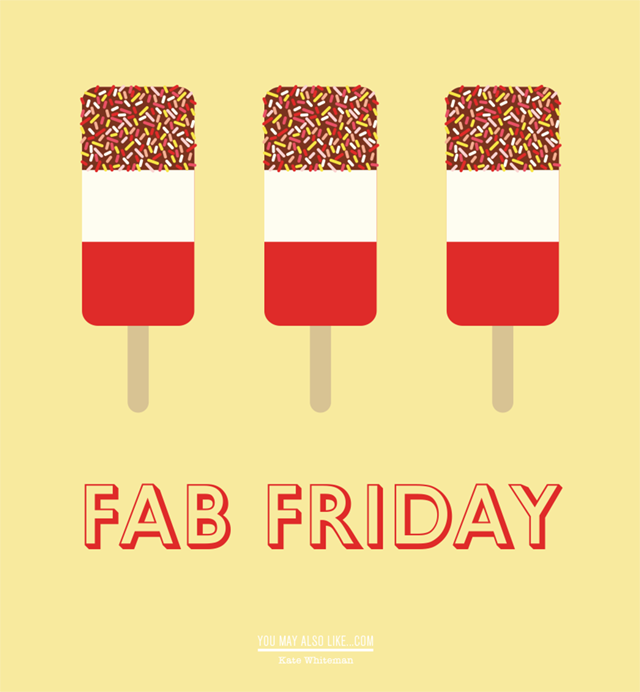 Illustration of Fab lollies by Kate Whiteman