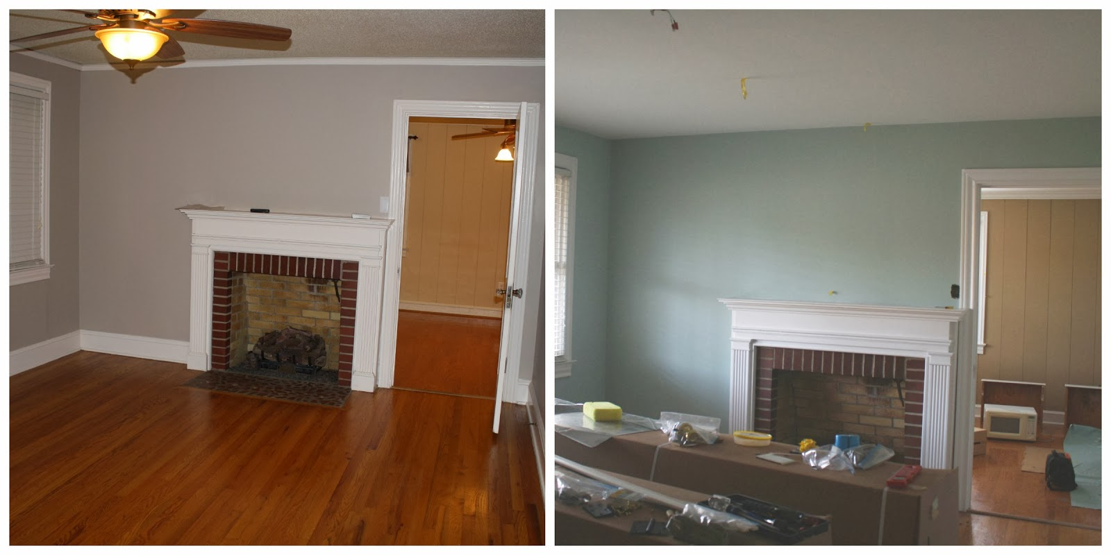 Not bad but didnt really work for what i knew i wanted to do with this room we painted it sherwin williams copen blue