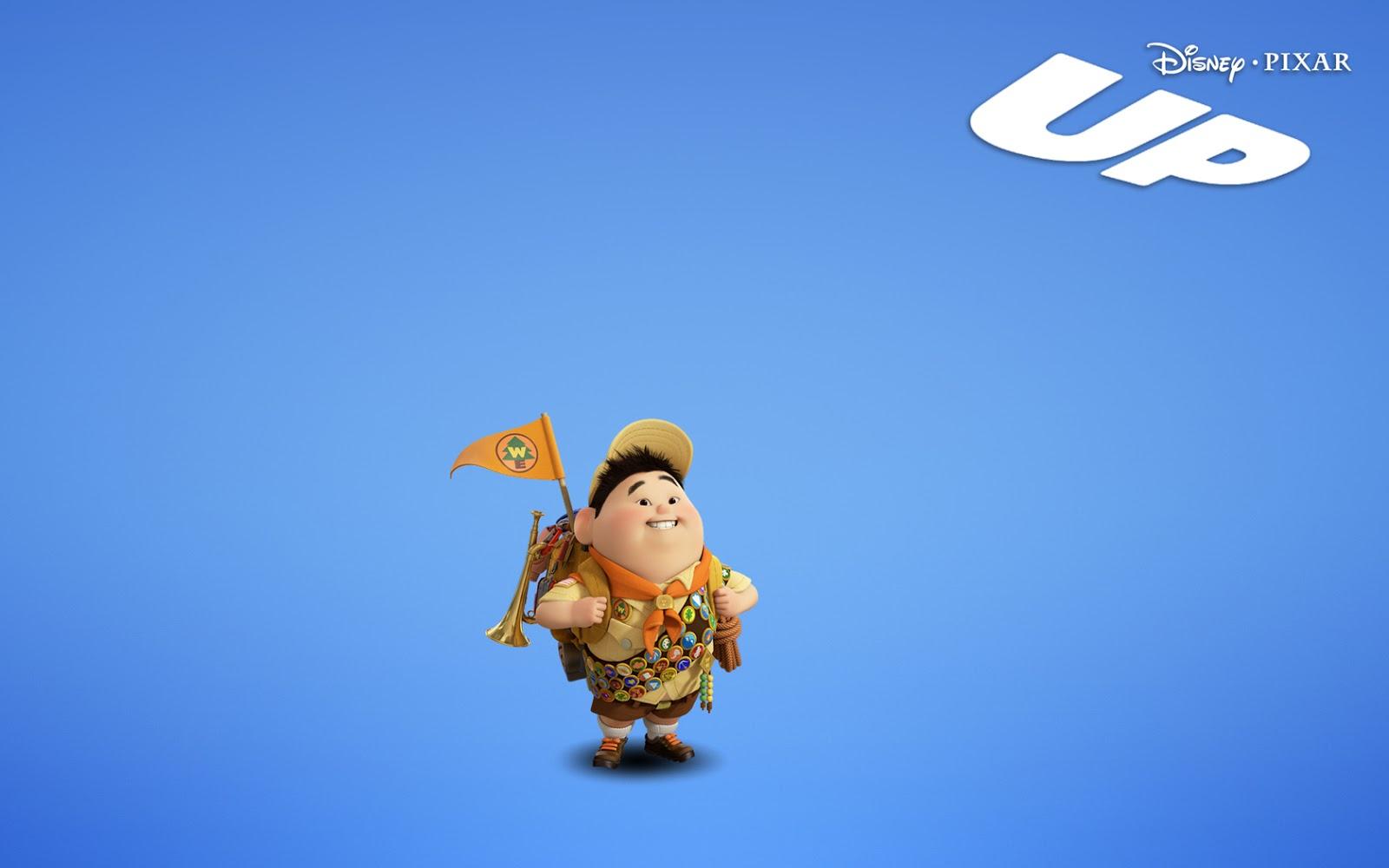 Disney HD Wallpapers: Disney Pixar Up Russell HD Wallpapers