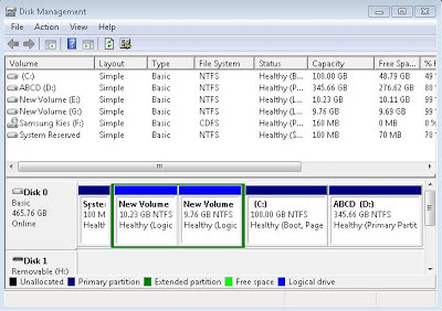 Cara Partisi Harddisk Windows 7 Tanpa Software