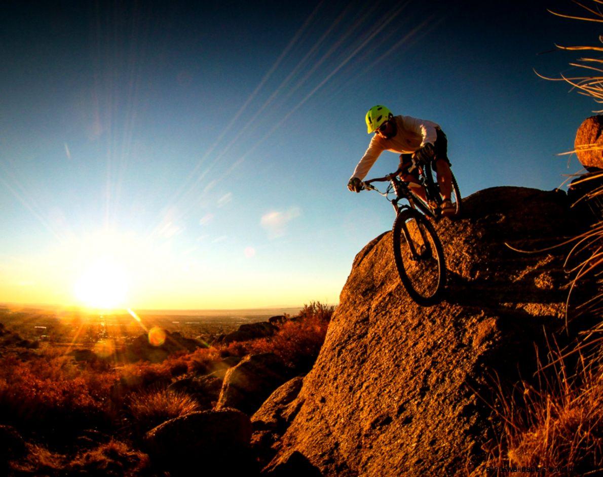 Extreme Mountain Biking Wallpaper: Sports Wallpaper Extreme Bicycle