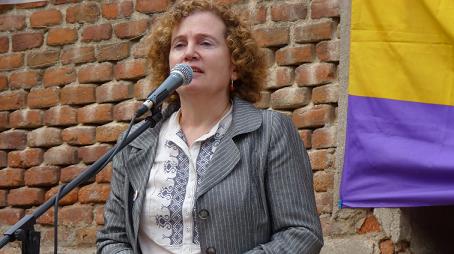 Acoso ultra a una historiadora: Mirta Nuñez