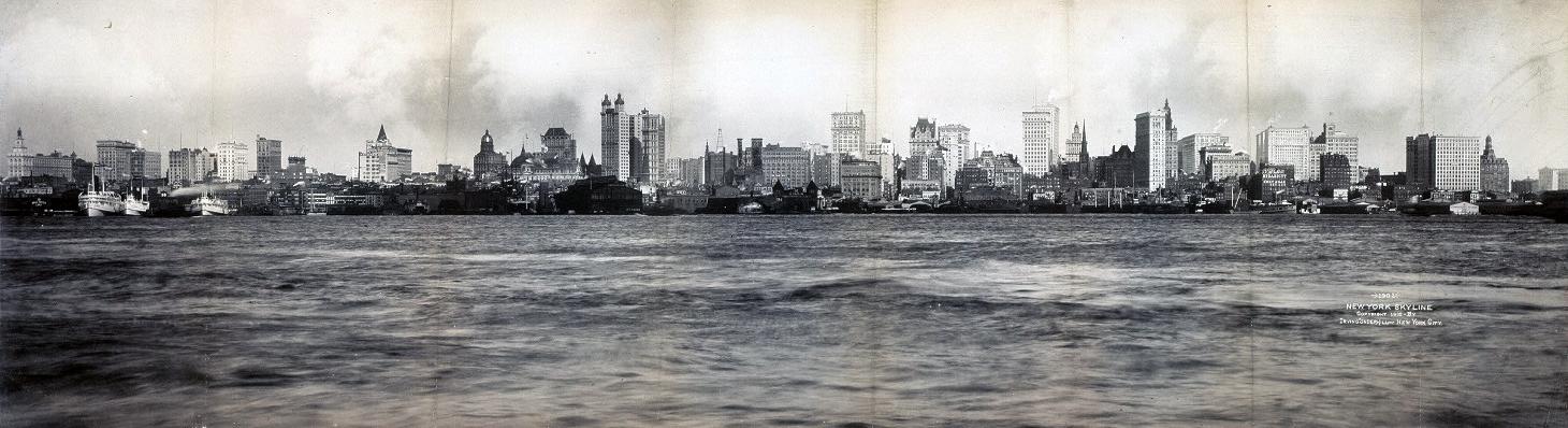 New York - History - Geschichte: Lower Manhattan - A journey through ...