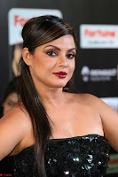 Glamorous Actress Neetu Chandra in Black dress at IIFA Utsavam Awards 2017  HD Exclusive Pics 19.JPG