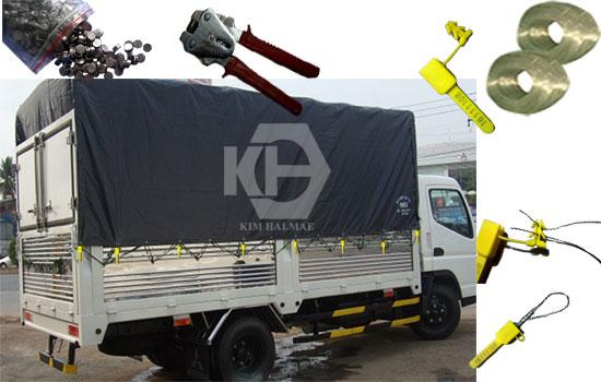 kẹp chì xe tải giảm thất thoát hàng hóa