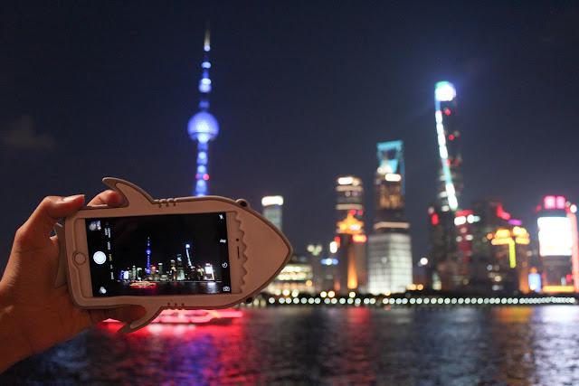 The Bund Shanghai iPhone