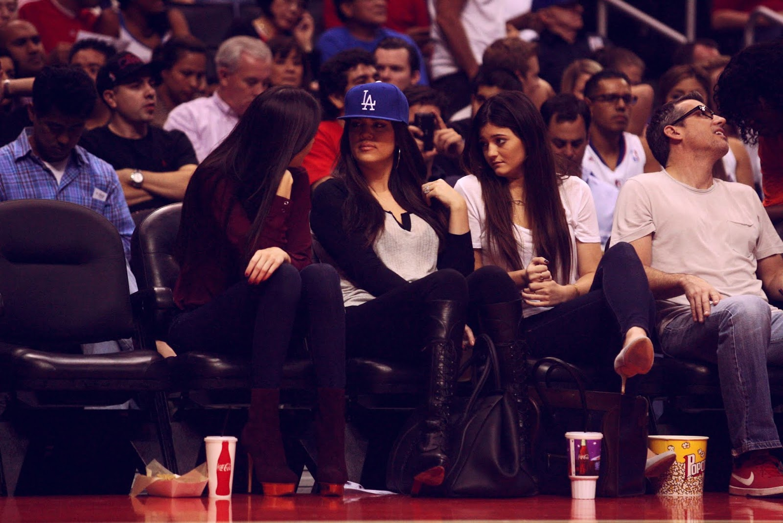 09 - Watching The Los Angeles Clippers Game on October 17, 2012
