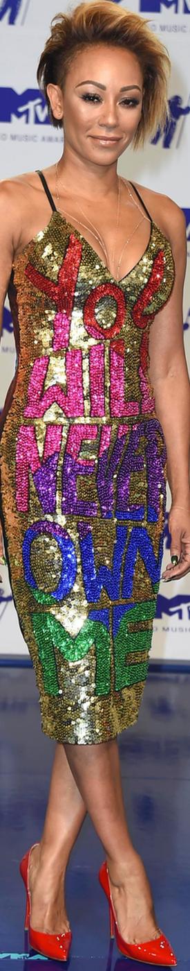 Melanie Brown 2017 MTV VMA's