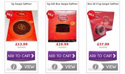 Saffron Price Online