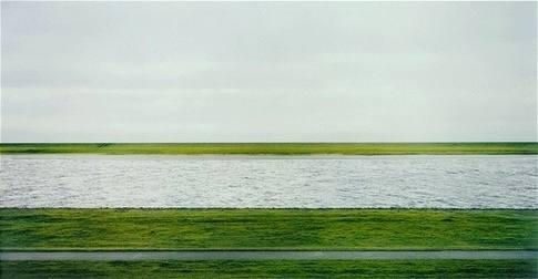 Andreas Gursky, Rhine II, 1999