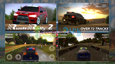 Game Rush Rally 2 Versi 1.51 Apk Mod Unlocked