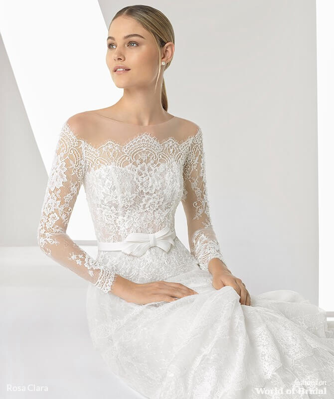 863dd00b9cd Rosa Clara Spring 2019 Wedding Dresses - World of Bridal