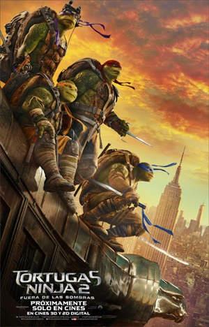 Tortugas Ninja 2 Fuera de las Sombras DVDRip Latino