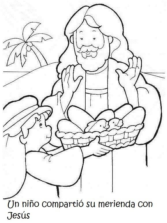 Materiales De Religión Católica La Multiplicación De Los Panes Y