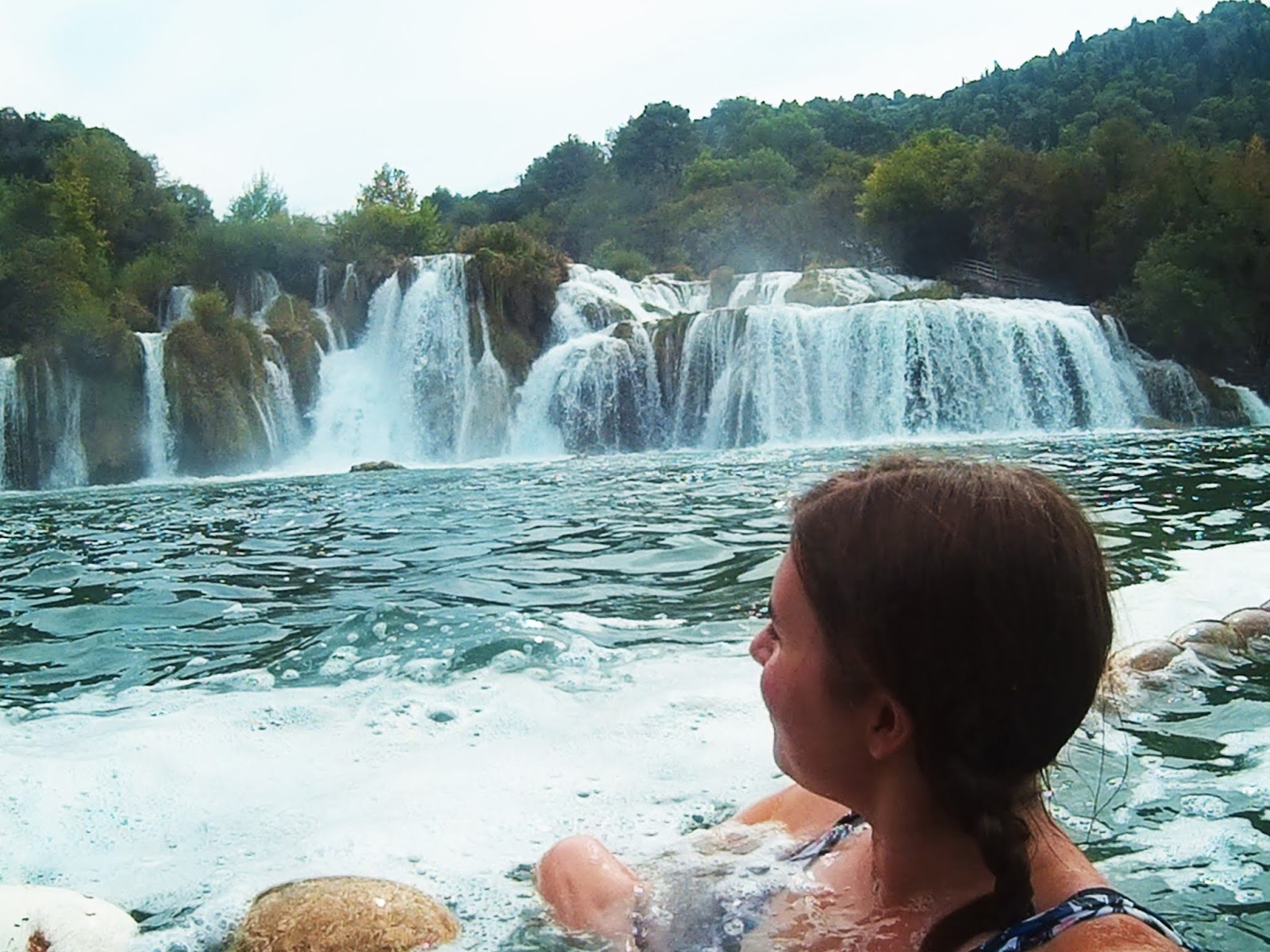 Swimming In Krka National Park, Croatia