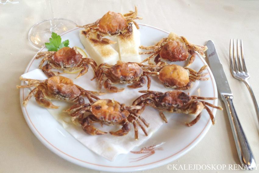 Moleche col pien to smażone karby nadziewane jajkiem