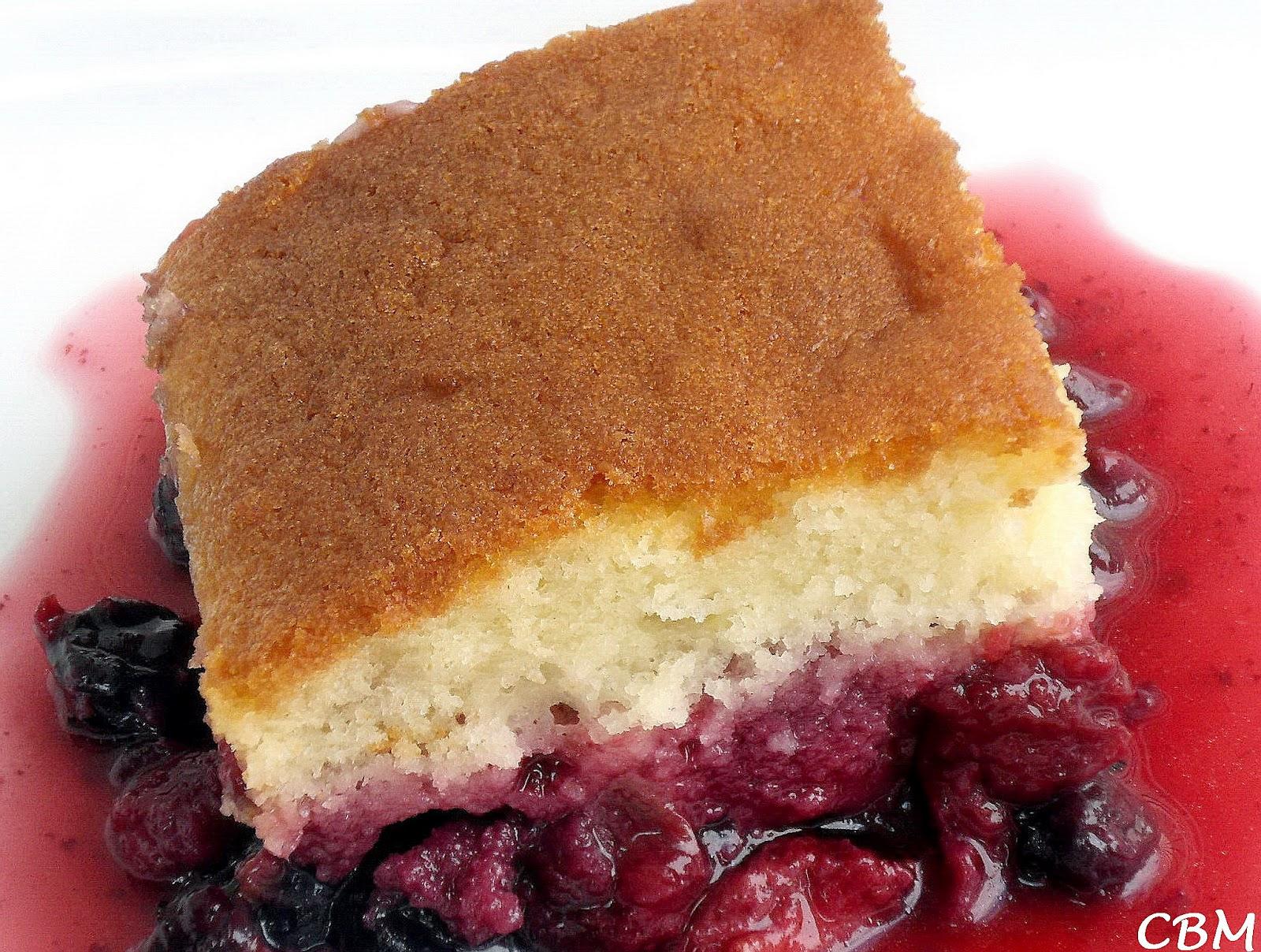 Dans la cuisine de blanc manger g teau jeannette renvers petits fruits et rhubarbe - La cuisine des petits ...