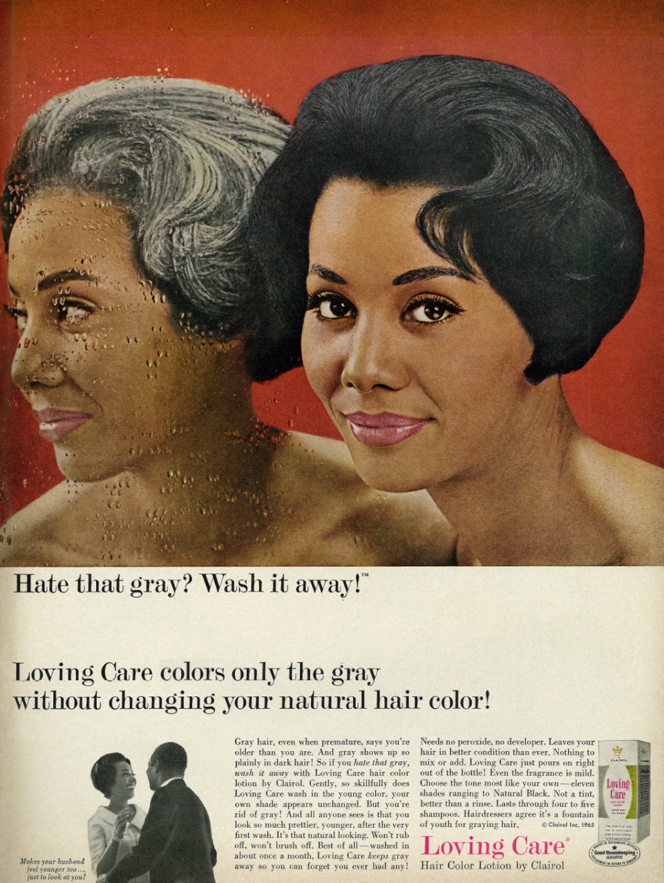 Quot Hate That Gray Wash It Away Quot These 1960s Ads For