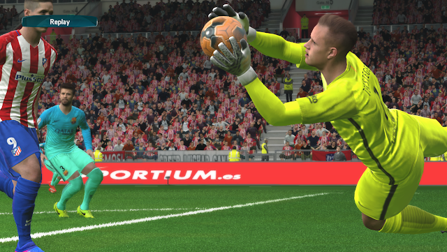 PES 2017 GE-EVOLUTION 2nd GK kits v.1 by ggblues