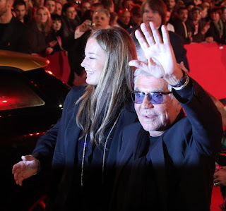 Roberto Cavalli with his wide Eva Duringer pictured in Vienna in 2013