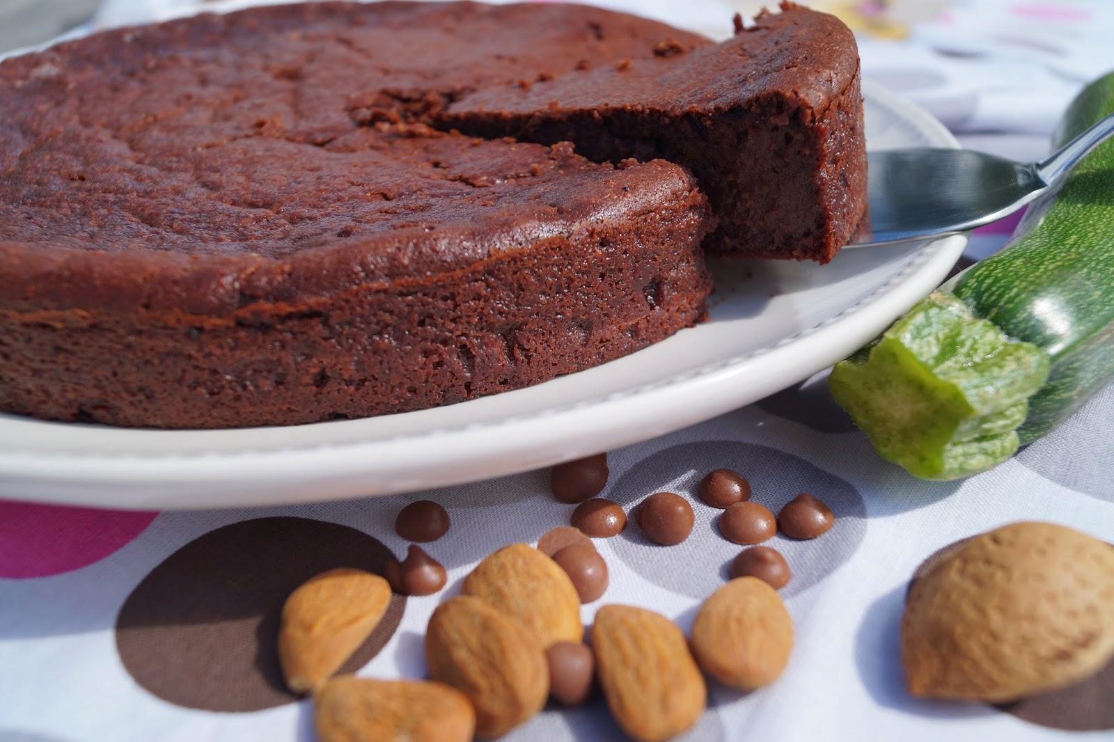 Gâteau Au Chocolat Et Aux Courgettes