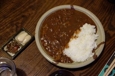 鳥取の郷土料理 たくみ割烹店 ハヤシライスセット