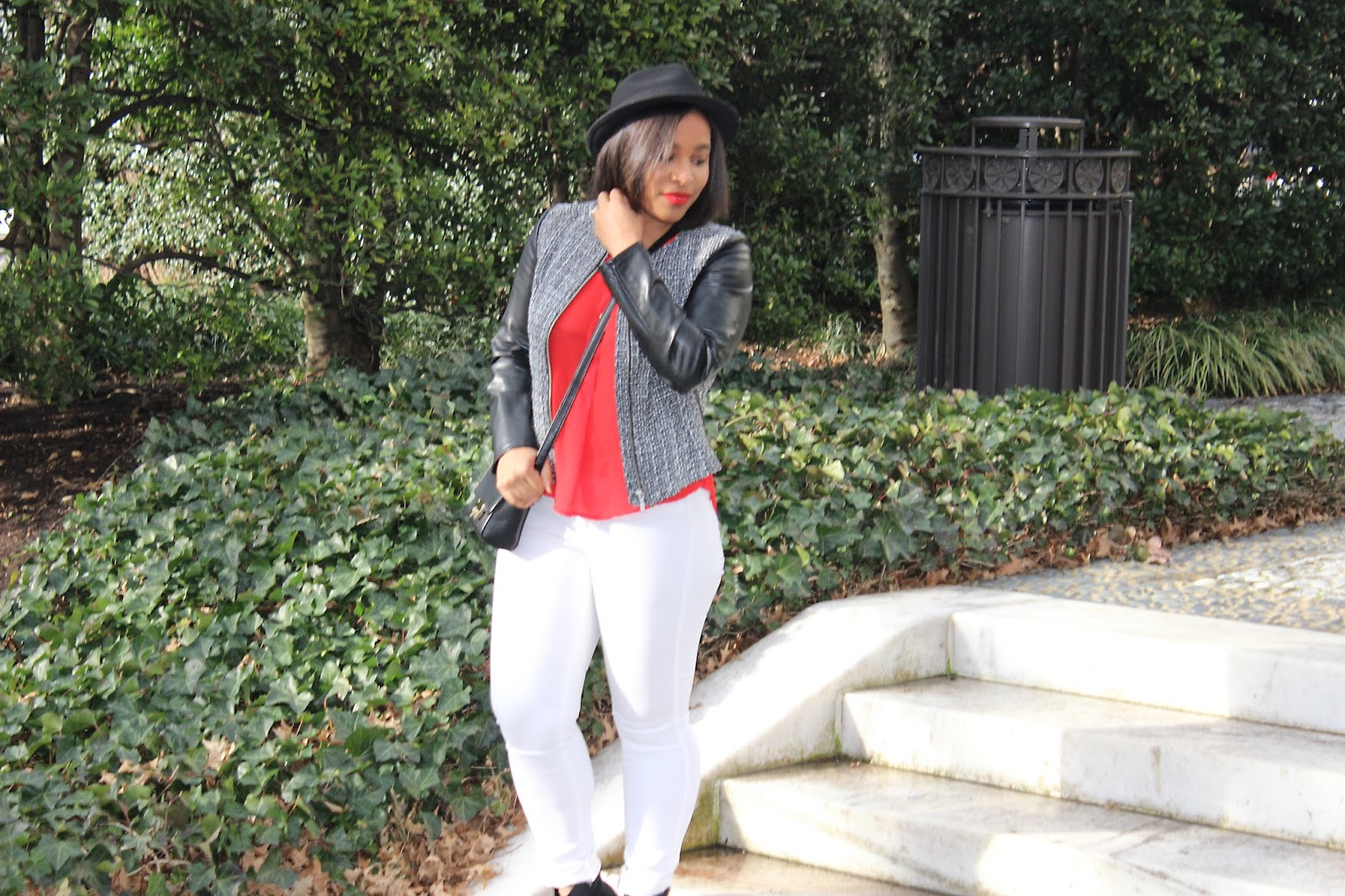 white jeans, denim, hats, white jeans in the winter, edgy look