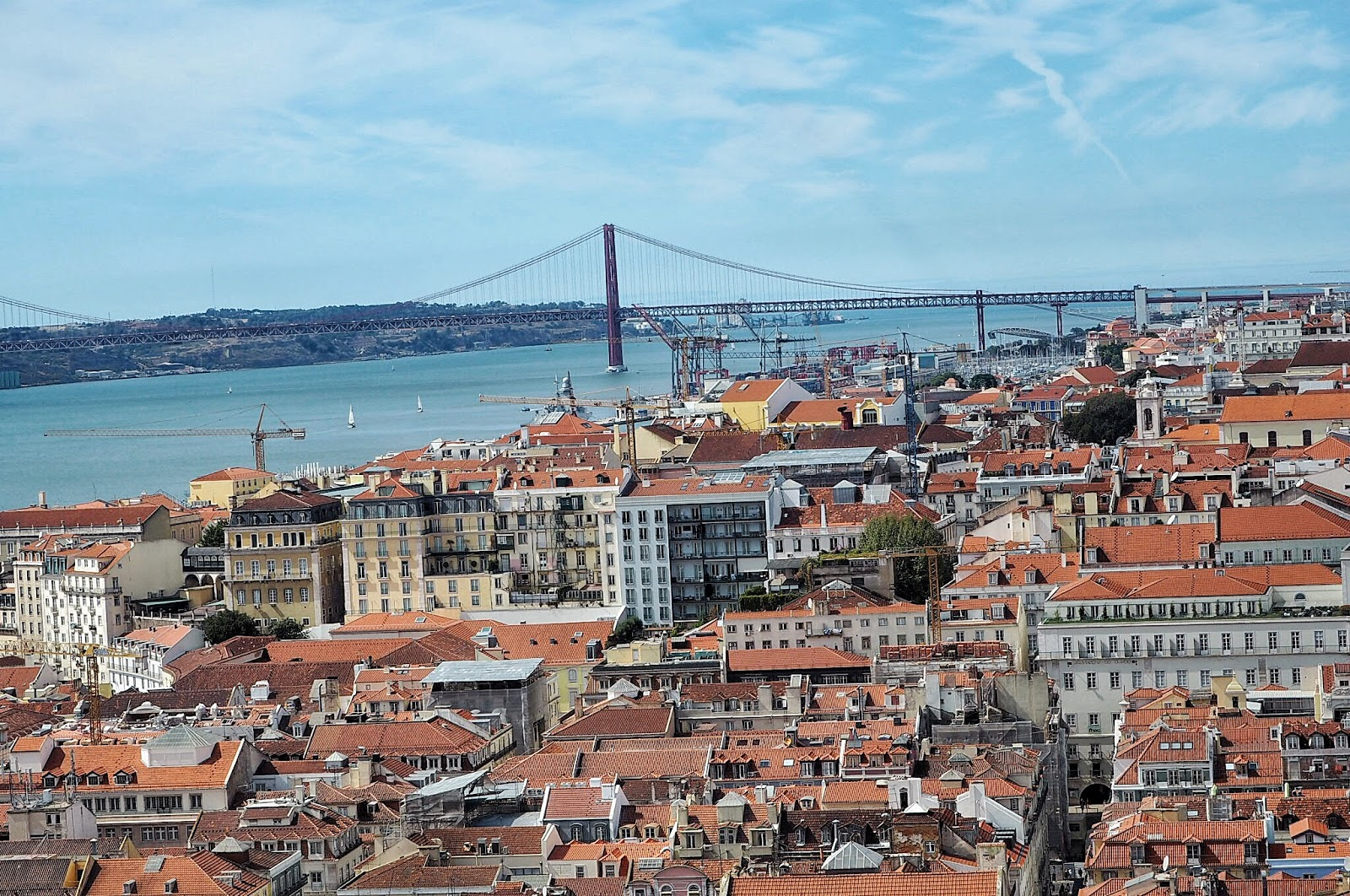 25 de Abril Bridge from Castello de Sao Jorge