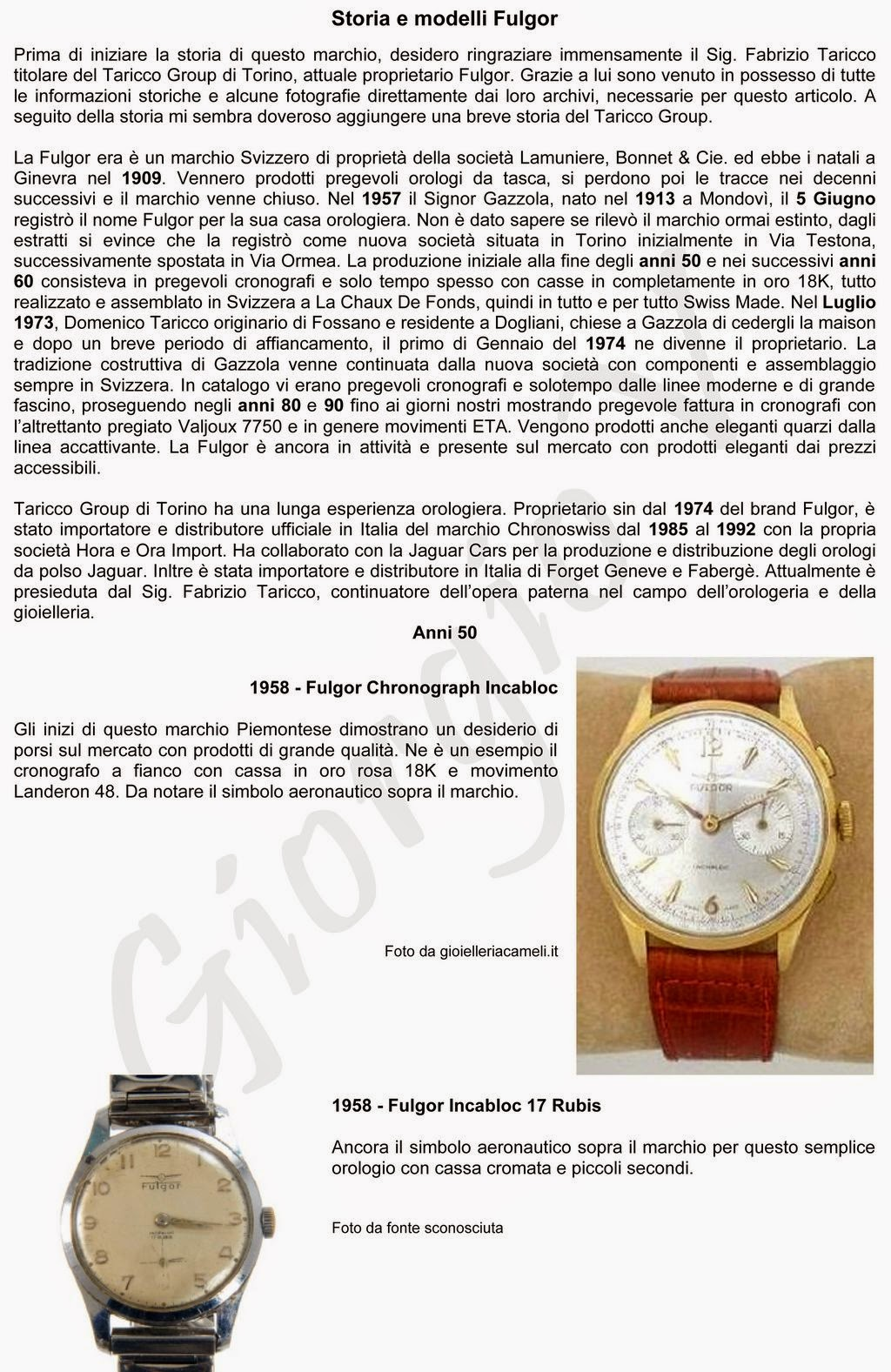 fb6112ee30ae Vintage and Russian watches  ChronoStoria Fulgor