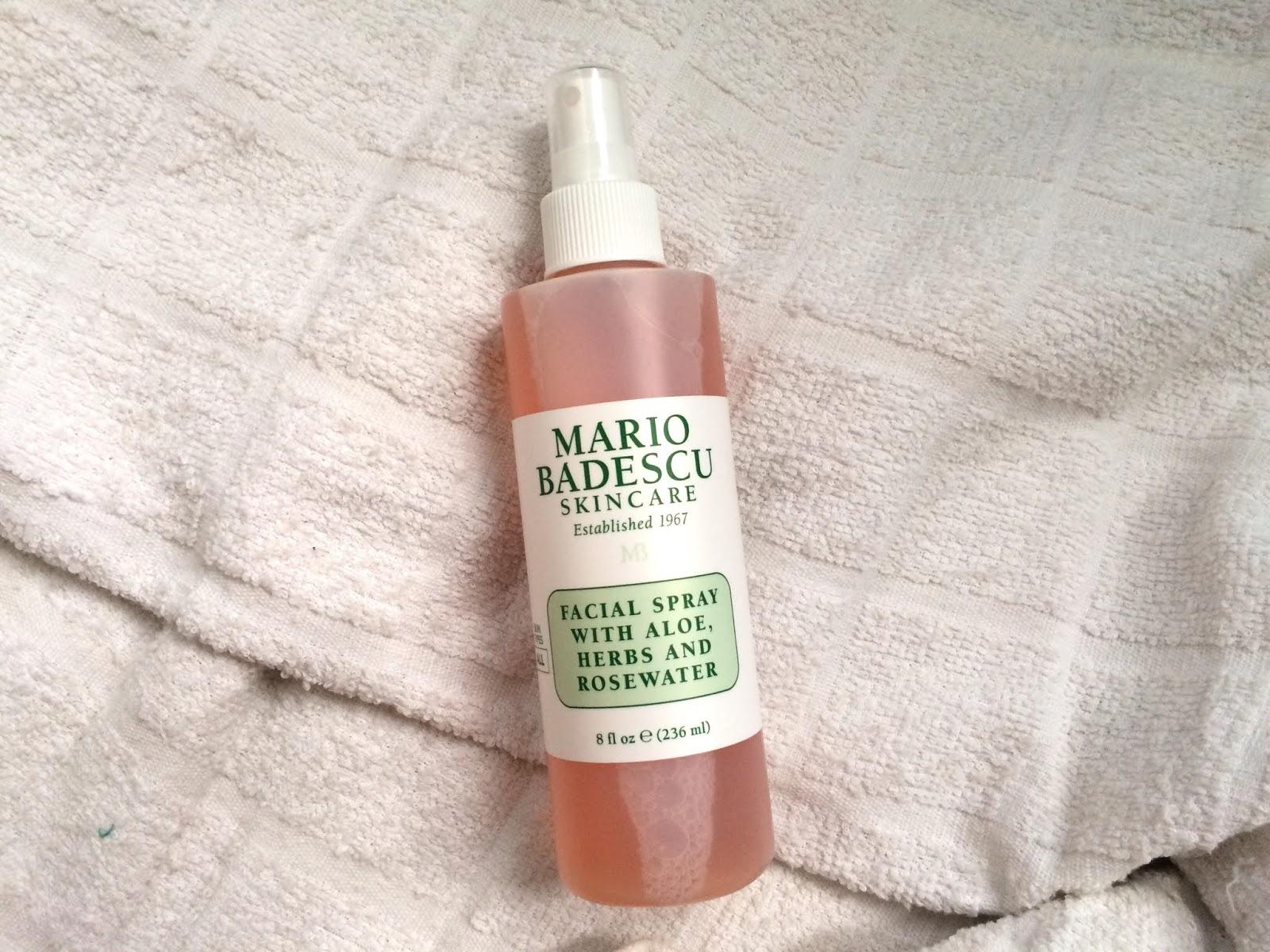 Review Mario Badescu Facial Spray With Aloe Herbs And
