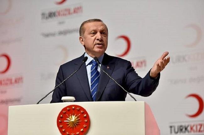 Presiden Turki Erdogan sebut akan sumbangkan makanan ke Qatar setelah terkena blokade dunia Arab.