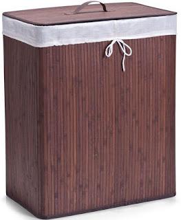 coș de rufe din bambus - cătălina