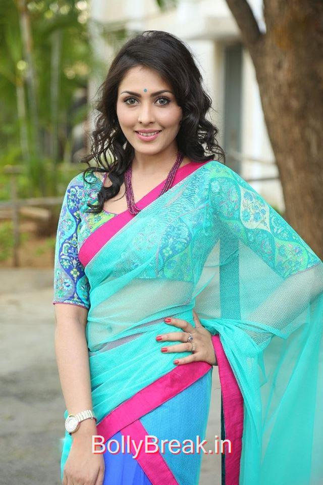 Madhu Shalini Hot Hd Pics From Photo Shoot In Saree - 7 Pics-7710