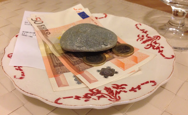 Notas e moedas em euros