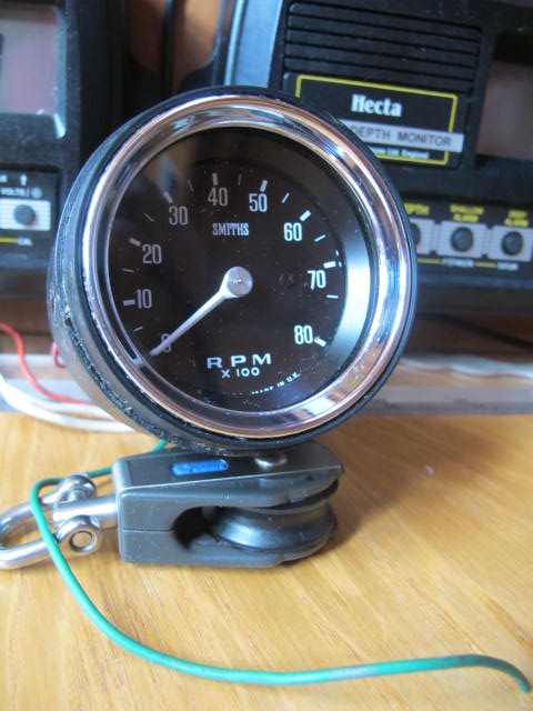 how to connect rev counter